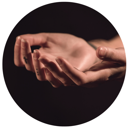 "image of open hands for a blog article for Gulf Breeze Recovery entitled: ""3 Tips on how to reconcile Forgiveness with setting Boundaries"""