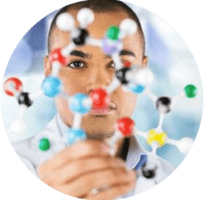 scientist holding molecule representing opioid molecule for gulf breeze recovery article on death of Prince Gulf Breeze Recovery is a non 12 step holistic drug and alcohol treatment facility that uses the THRIVE® Total Health Recovery Model for recovery