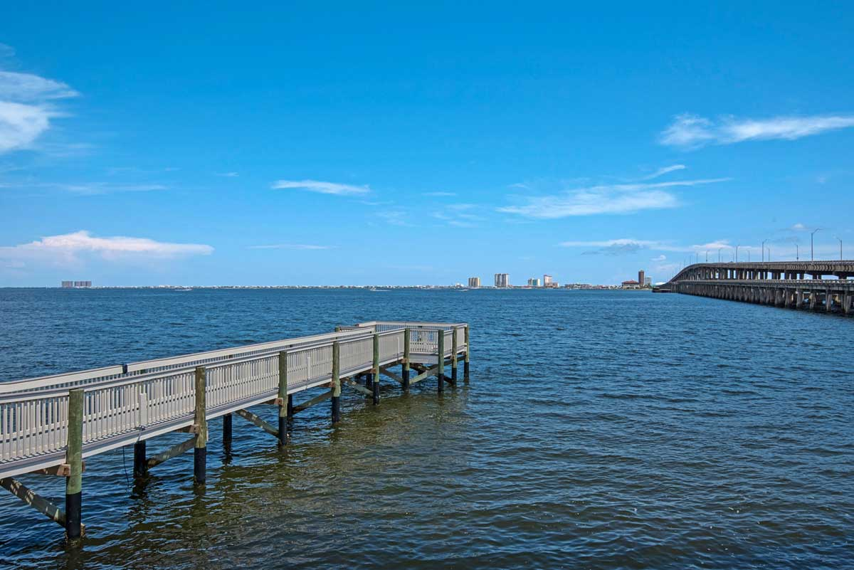 image of gulf breeze recovery's private fishing pier